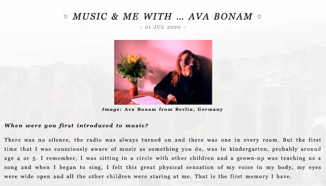 Ava Bonam